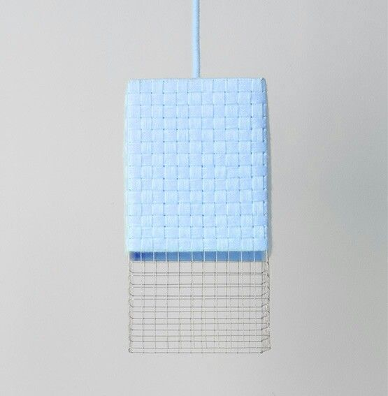 weev lamp, blue