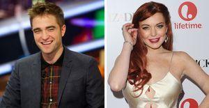 Robert Pattinson pode protagonizar filme de 'Cinquenta Tons de Cinza' ao lado de Lindsay Lohan - Ator da saga Crepúsculo pode dar vida a Christian Grey nas telonas