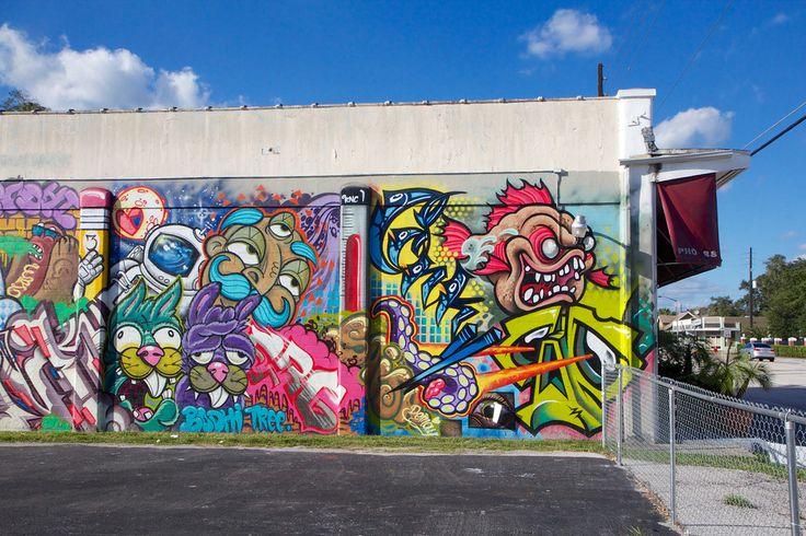 Graffiti in the MIlls 50 area - Orlando