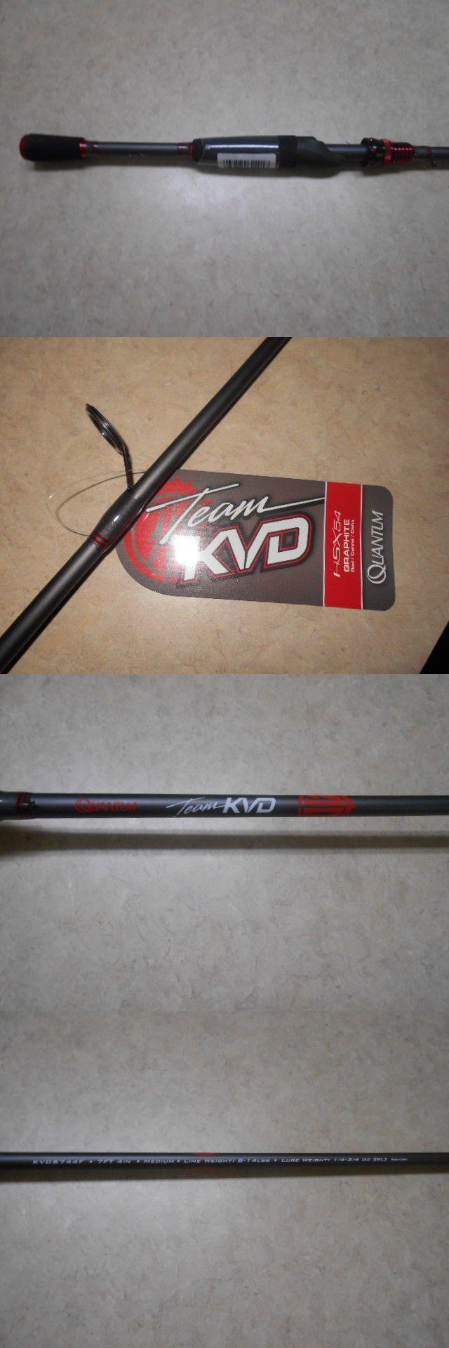 Spinning Rods 36150: New Style Quantum Kvd Team 7 Ft. 4 In. Medium Action Kvds744f Spinning Rod -> BUY IT NOW ONLY: $45 on eBay!