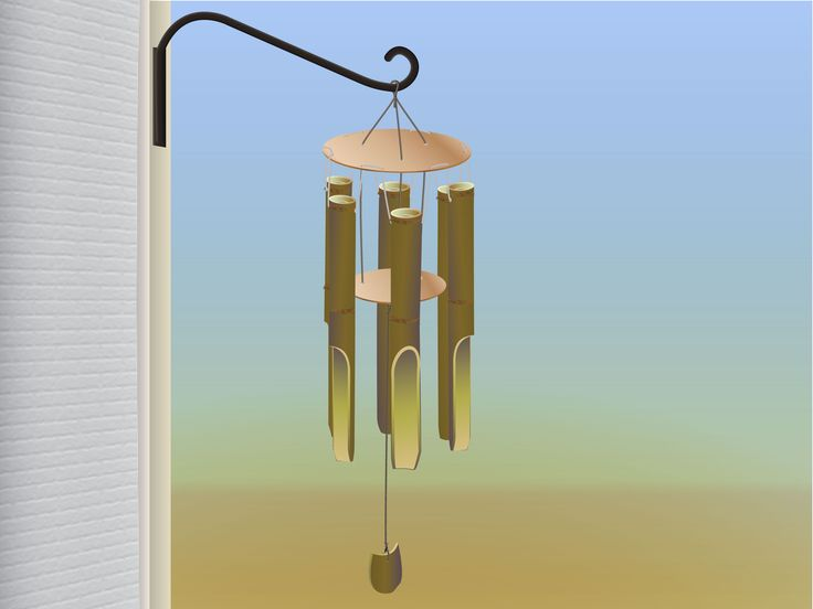 Wind chimes, a decorative piece that can liven up your home, can be made from a variety of materials such as ceramic pieces and metal tubing. If you are going for a natural look and mellow tone, bamboo is an excellent material to use. You...