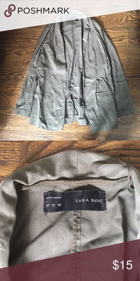 Zara army style jacket Good condition, blazer style jacket Zara Jackets & Coats Blazers