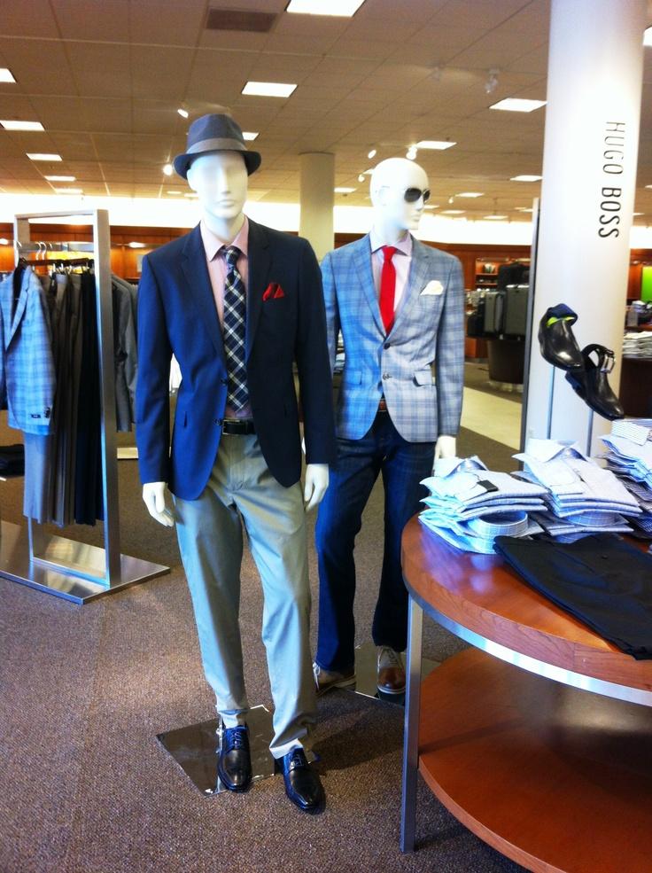 """Men's Clothing - February 2013 """"Navy Sports Coats"""""""