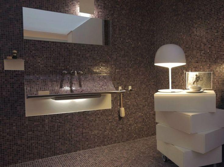 tolles badezimmer mit steinmosaik seite abbild oder bedbfdeccecc contemporary design bathroom sinks