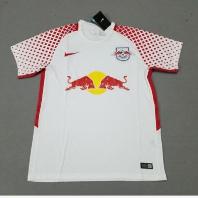 Adult RB Leipzig home white fans version jersey 2017/18