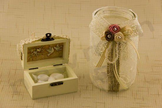 Ρομαντικός Vintage DIY γάμος από την Deppy Cheila | bombonieres.com.gr