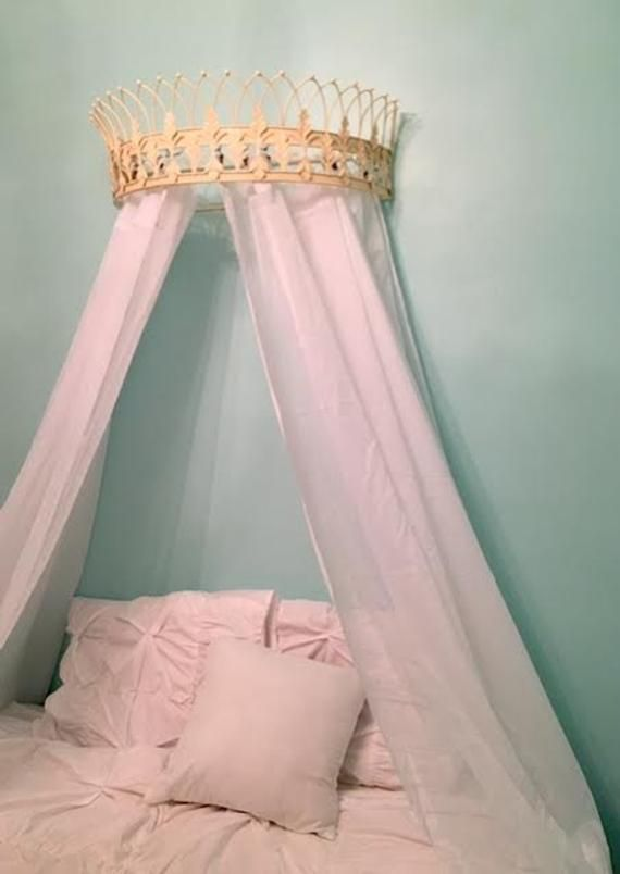 Crown Canopy Bed Canopy Bed Crown Wall Crown Crown Wall Etsy Bed Crown Canopy Bed Crown Canopy Bed Diy