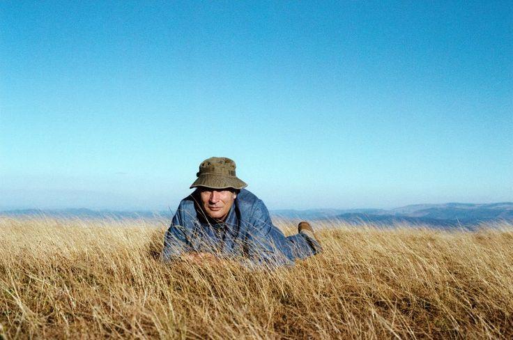 Urlaubsfoto des Mannes, der von 1981 bis 1995 französischer Präsident war,...