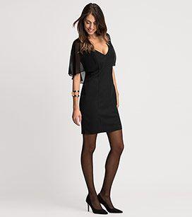 Kleid in der Farbe schwarz bei C&A