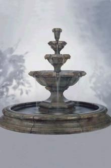At Home With White. Tiered GardenStone FountainsWater ...