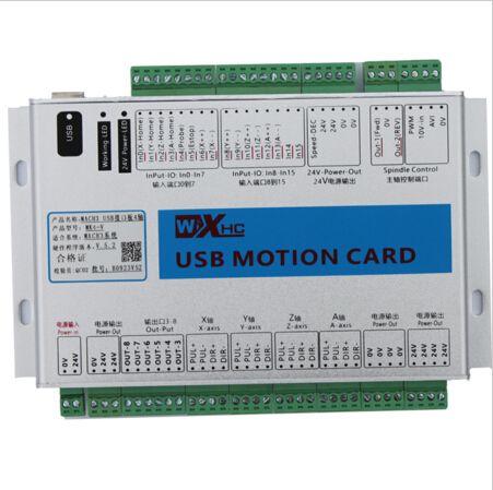 XHC 2000 кГц CE шпинделя скорость обратной связи 5-го поколения mach3 usb ЧПУ Motion Controller breakout совета