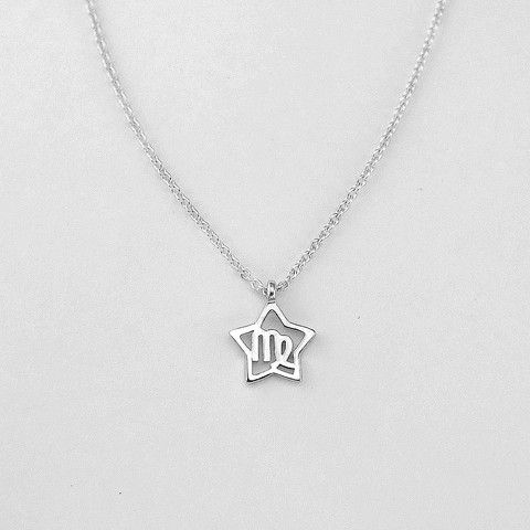 $11.99 - Zodiac Necklace - Zodiac Jewelry - sterling silver necklace chain - FASHION NECKLACE - ZODIAC SIGNS - http://prjewel.com/collections/real-925-sterling-silver-necklaces