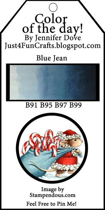 Color of the Day-Blue Jean