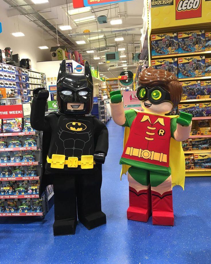 Batman & Robin have taken a break from fighting crime to
