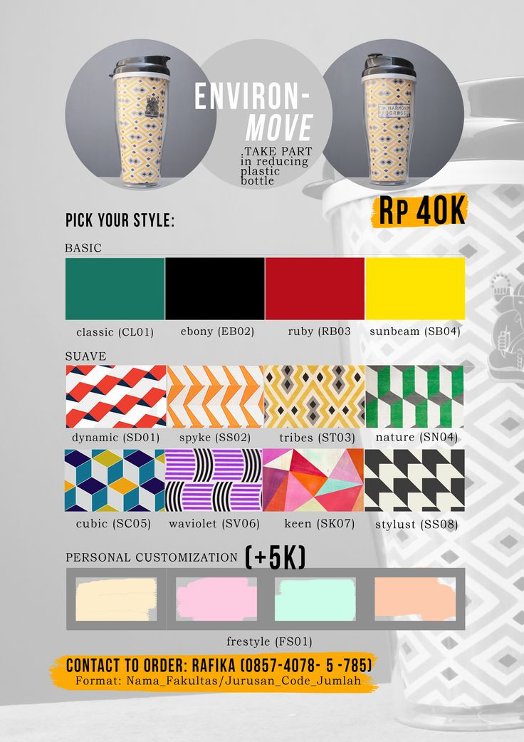marketing poster selling tumbler  never happened tho made for TERRA ITB 2014