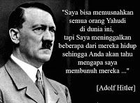 "Hitler proved true speech  ""I could have annihilated all the Jews in the world, but I left some of them alive so you will know why I was killing them..."" [Adolf Hitler]"