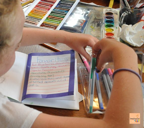 4 Ways to Express Who You Are  -- Art Journal Activities for Kids and Adults