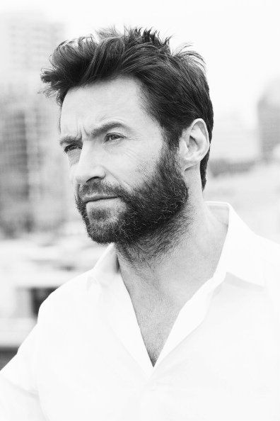 Hugh Jackman- I like him cos he makes me think of what Matt would sort of look like in 15- 20 years