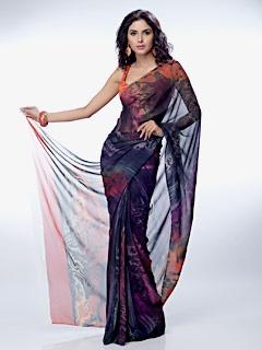 Satya Paul - SAREES - Printed & Embellished Sarees - RD4940
