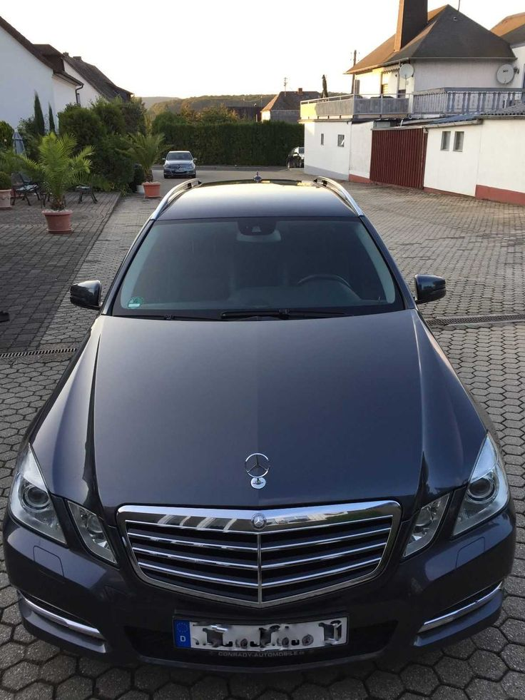 Mercedes Benz E Klasse Avantgarde Kombi Blue Efficiency