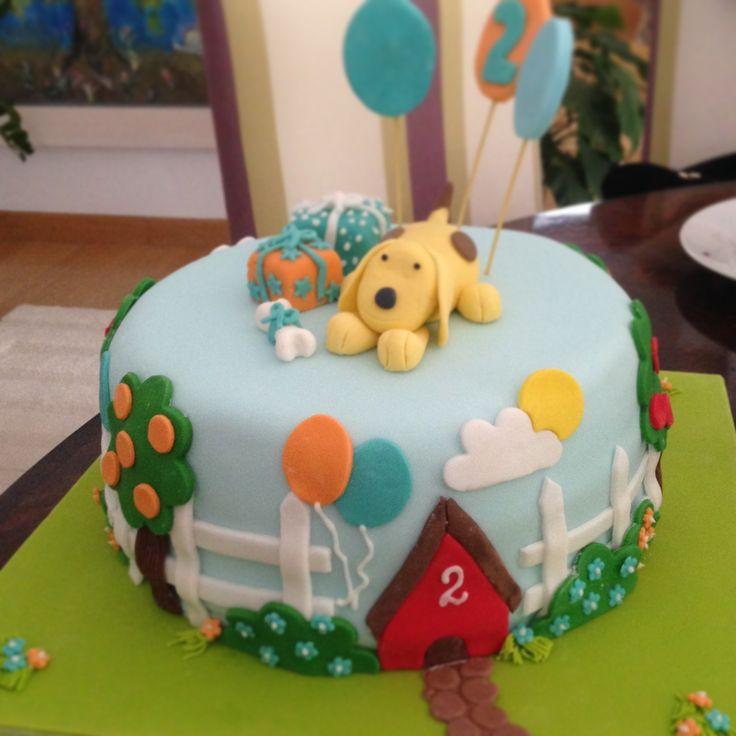 Spot the dog birthday cake