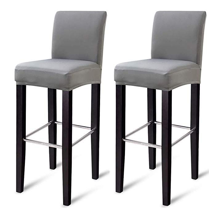 Mocaa Dining Chair Covers Bar Stool Chair Covers Barstool