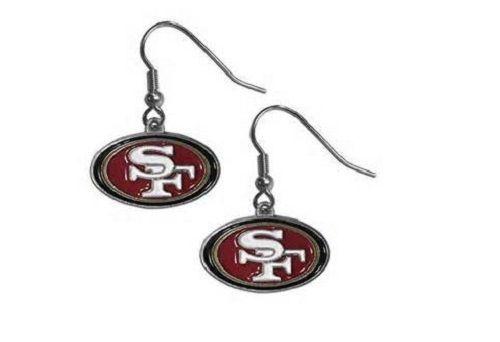 NEW San Francisco 49ers Dangling Earrings - NFL Football Team  #SanFrancisco49ers