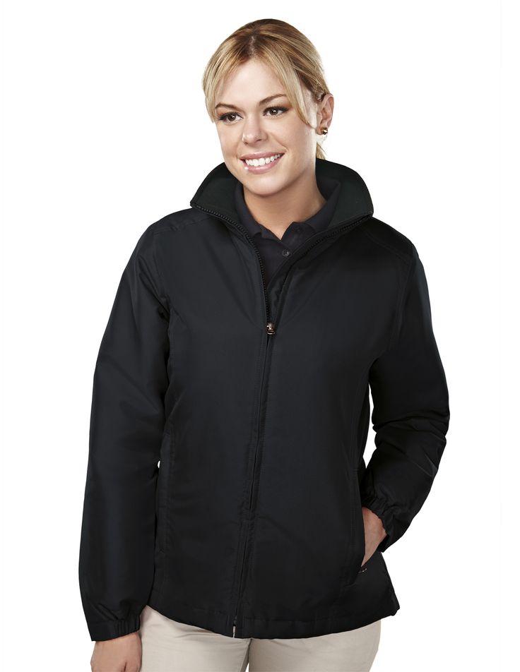 Women's Long Sleeve Jacket With Water Resistent (100% Polyester) 8860 Sequel #WomensJacket #LongSleeveJacket #WaterResistant #LongSleeve