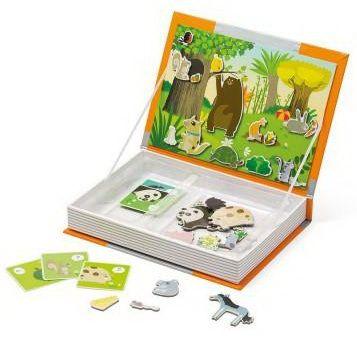 Donnez aux animaux leurs nourritures préférées et ce sera gagné ! Contenu : 30 magnets, 15 cartes. Dimensions de la boîte : 19 x 4 x 26.5 cm.
