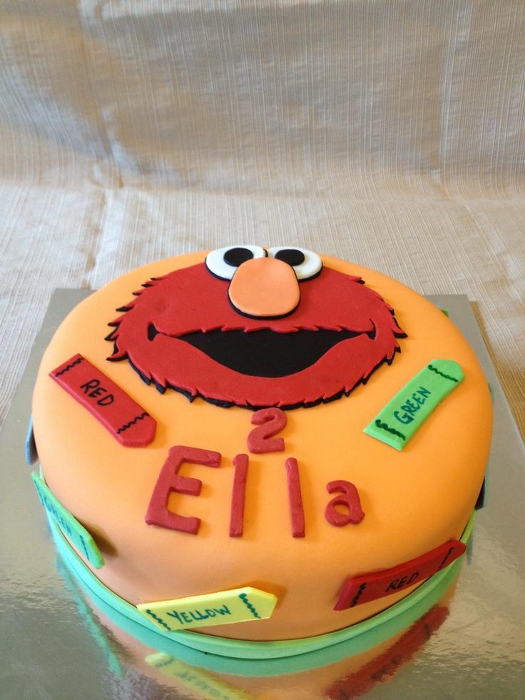 Elmo Cake Toppers Canada