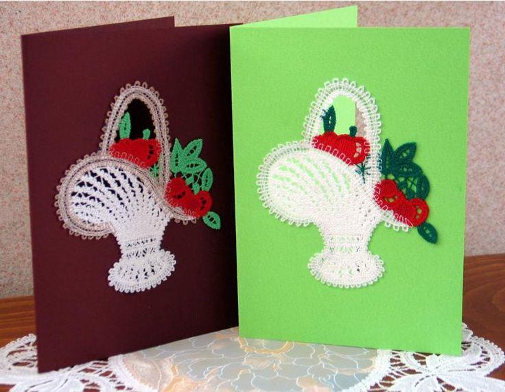 Advanced Embroidery Designs - FSL Battenberg Apple Basket Lace