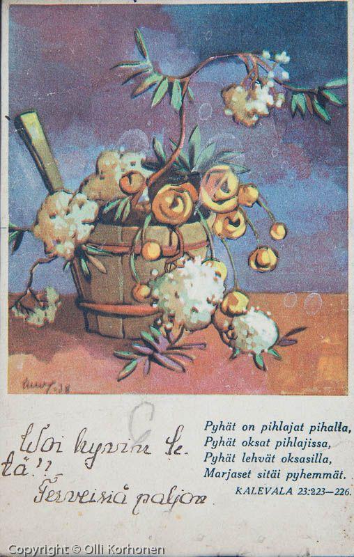 Martta Wendelinin Kalevala-kortti 23