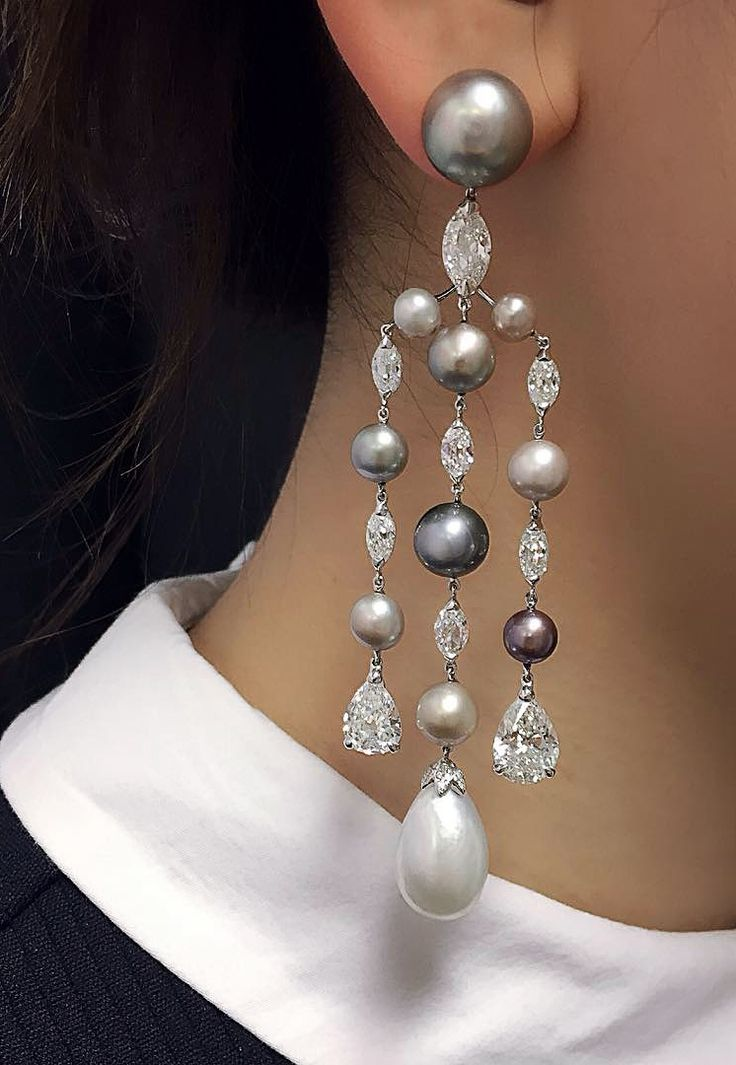 3147 best Ethereal Earings images on Pinterest | Jewelry, Diamond ...