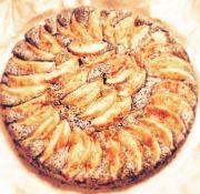 Máktorta almával Zelleitündi módra