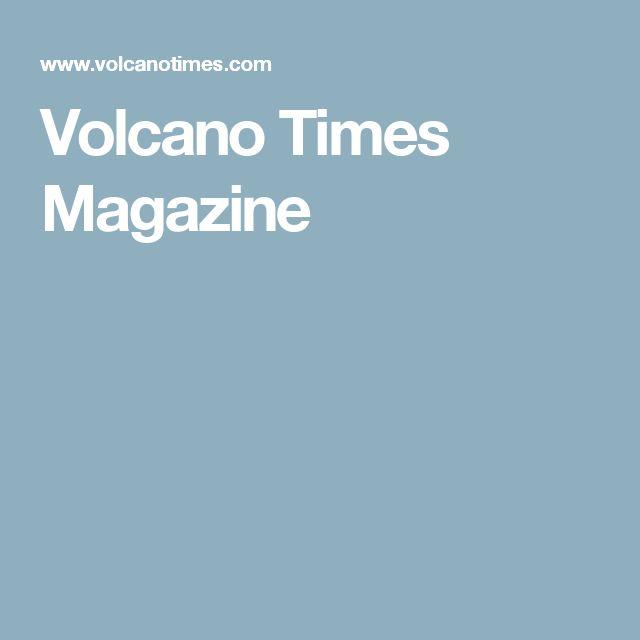 Volcano Times Magazine