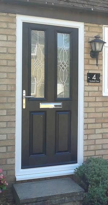Front Doors Black And Doors On Pinterest
