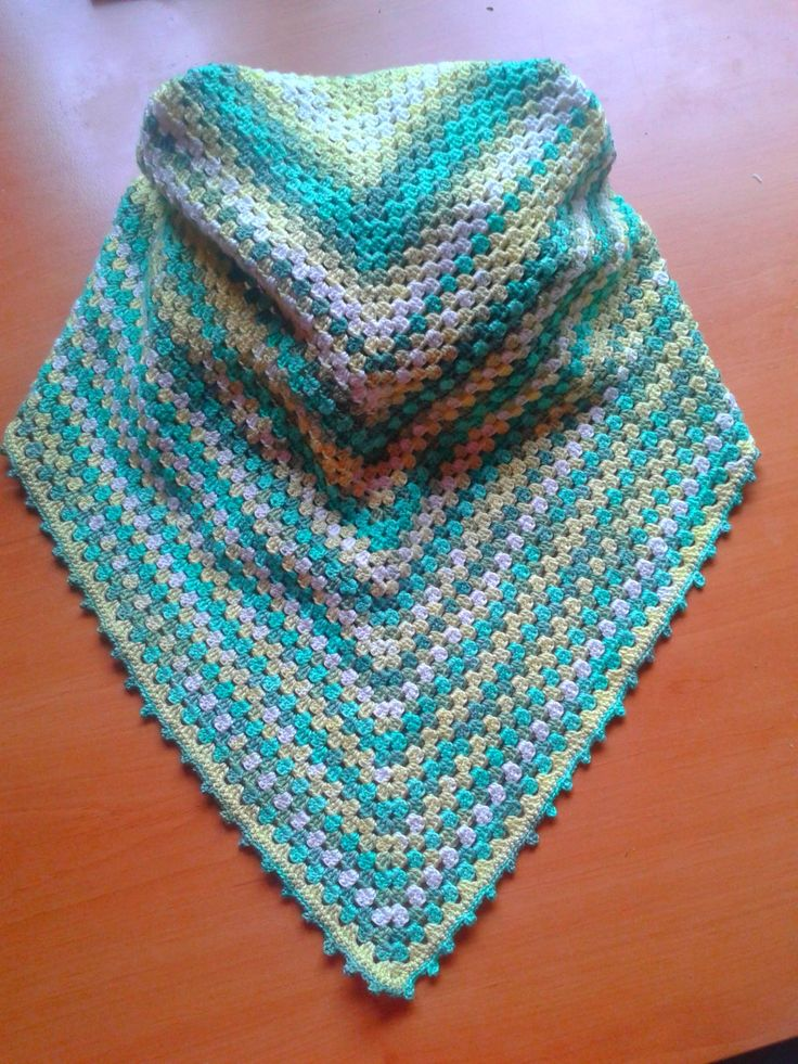 crochet - shawls (cotton/ bamboo)