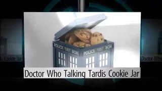 Doctor Who Talking Tardis Cookie Jar - YouTube