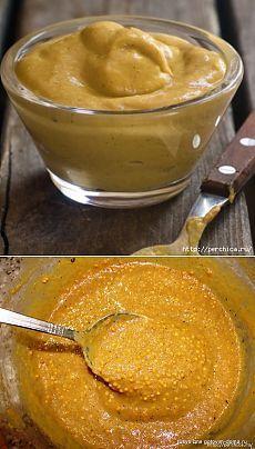 Домашняя горчица *Вырви глаз*- рецепты