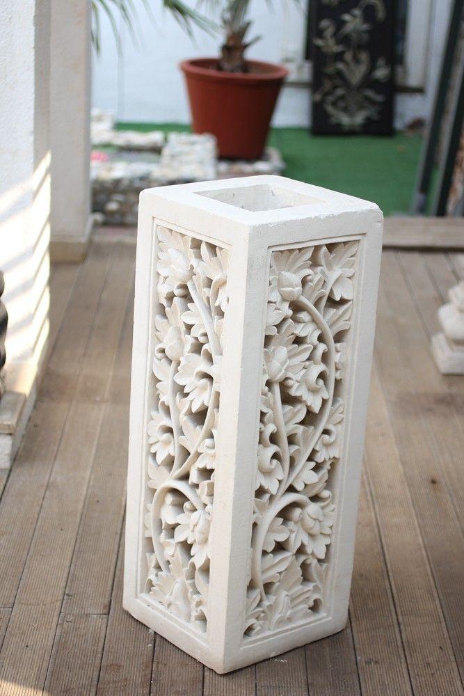 Komodo Limestone Floral Play Floor Model (OSTO 01)