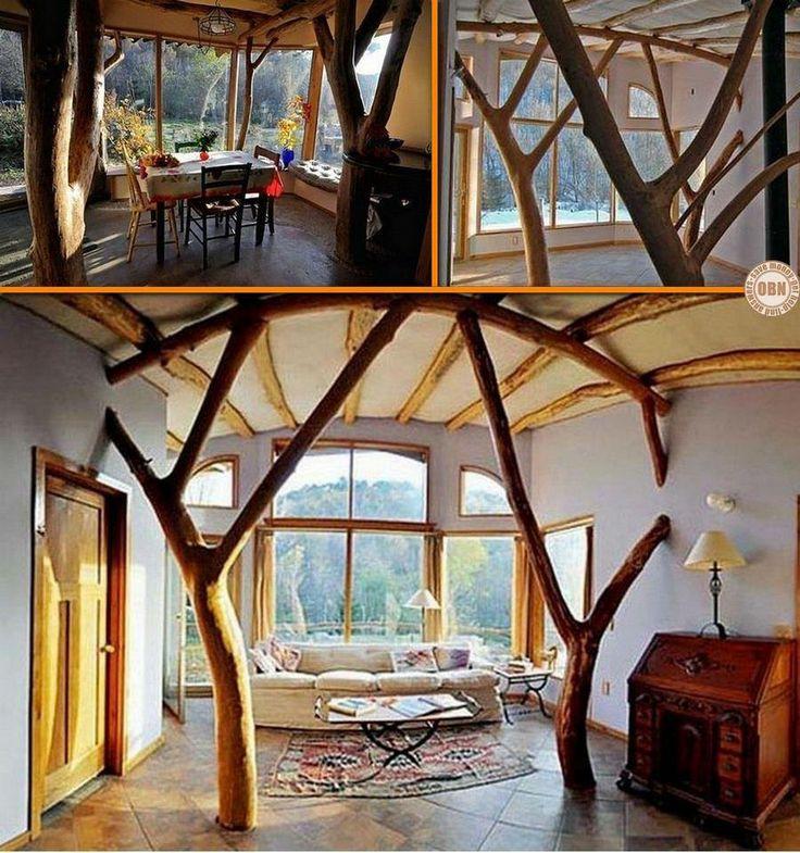 Whole House Design Ideas: 40 Best Whole Tree Architecture Images On Pinterest