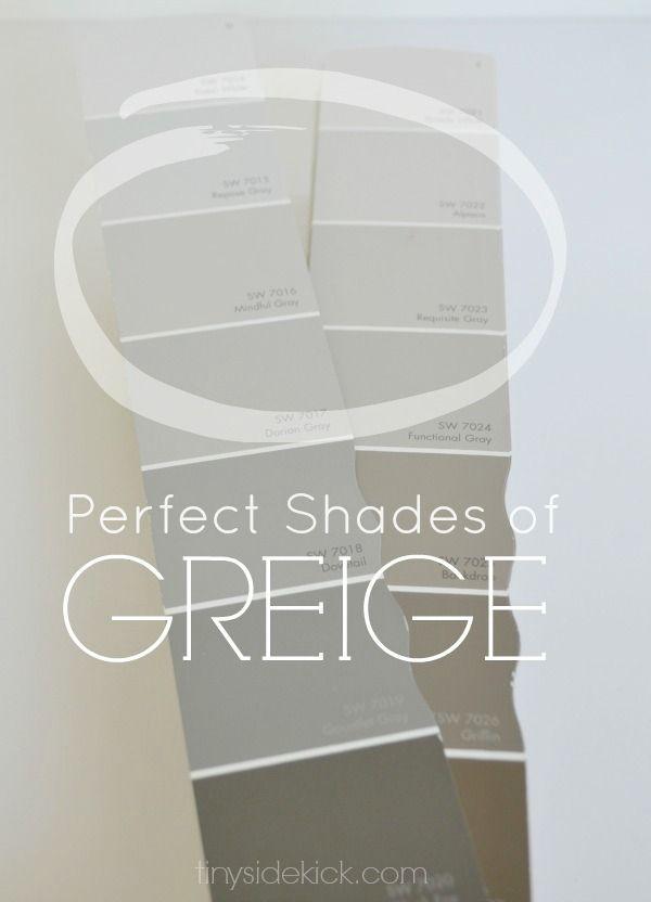 How to Choose the Perfect Greige Paint via TinySidekick.com