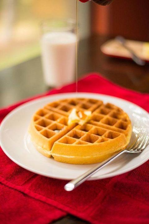 Perfect Cornmeal Waffles