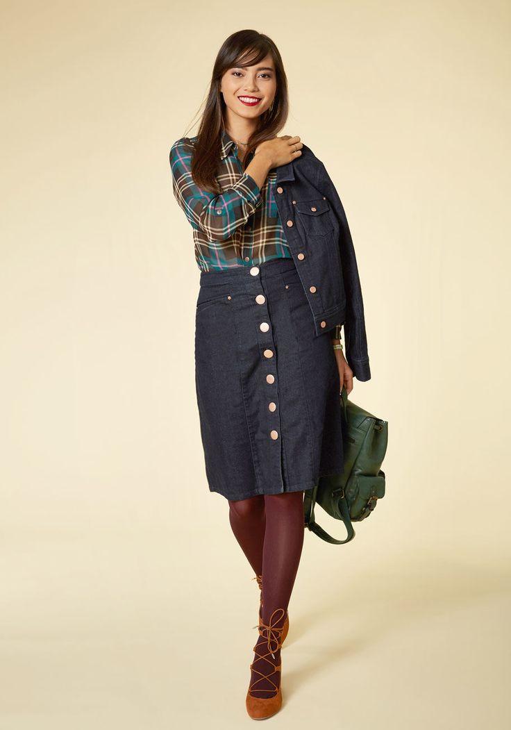 Cupro Skirt - Black Marble Skirt by VIDA VIDA Finishline Cheap Price Chotab