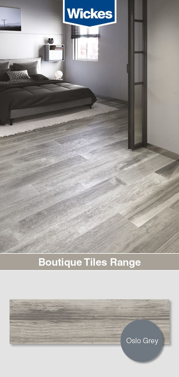 Boutique Oslo Grey Glazed Porcelain Wood Effect Wall Floor Tile 1200 X 200mm Wood Effect Tiles Tile Laying Patterns Adventurous Design