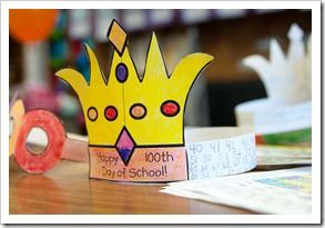 100th day of school crown template - 17 best images about 100 days of school on pinterest