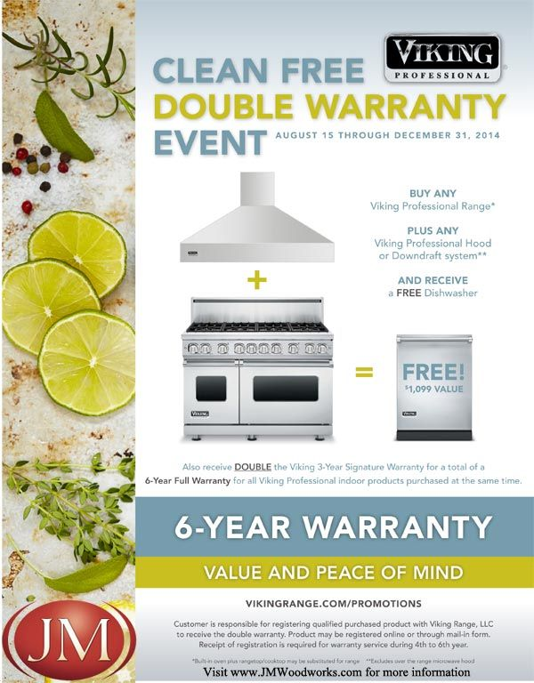 Viking Pro Promo At JM Kitchen And Bath   FREE Dishwasher With Purchase Of  Viking Ranch + Stove Hood