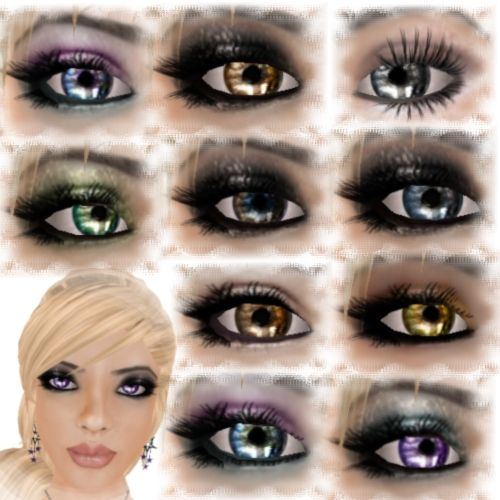 Different types of eye color