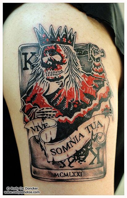 17 best orouboros and art deco border images on pinterest for Suicide kings tattoo