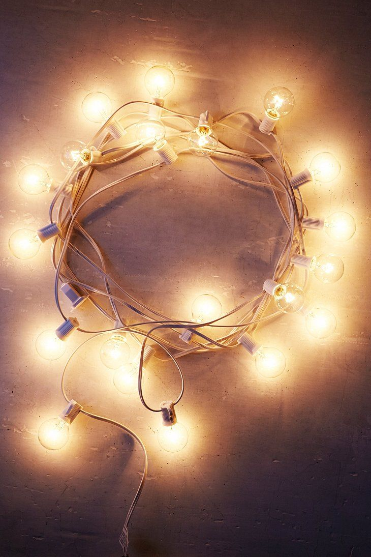 Or sleeping bags clothes pegs optional fairy lights optional - White Cord Globe String Lights